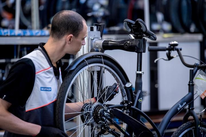 révision vélo atelier btwin village