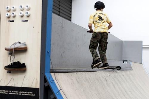 Pistes de skate