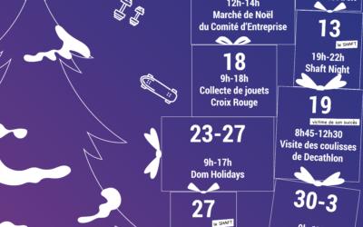 Événements du mois de décembre au Btwin village