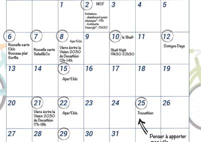 Événements du mois de janvier 2020 au Btwin village