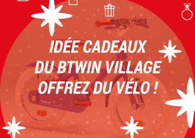 Idées cadeaux de Noël : offrez du vélo aux cyclistes !