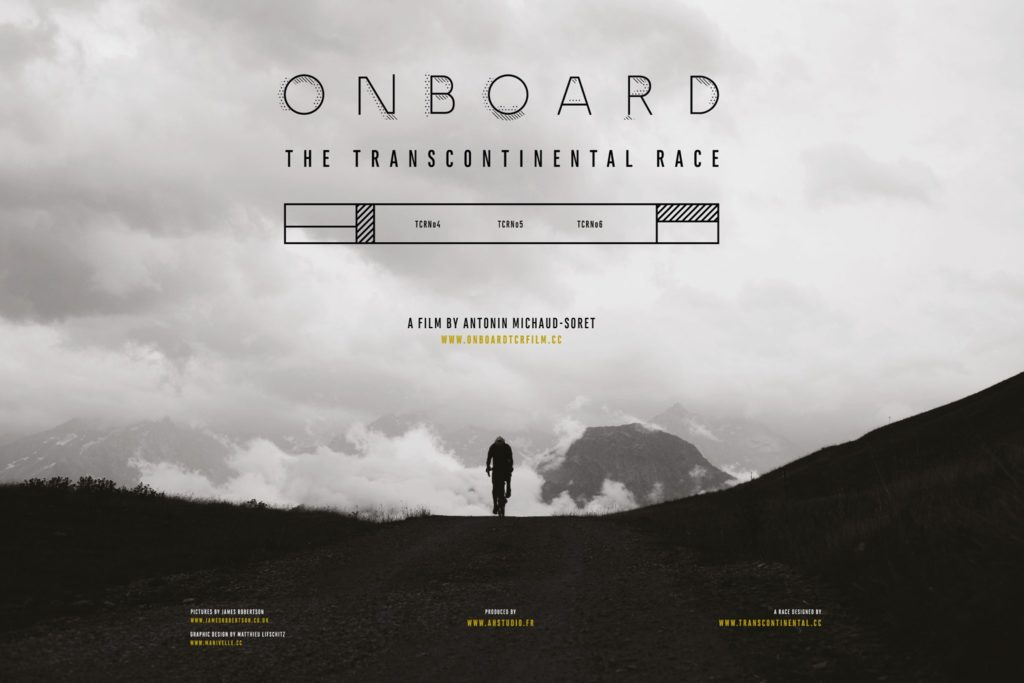 PROJECTION FILM ONBOARD : THE TRANSCONTINENTAL RACE