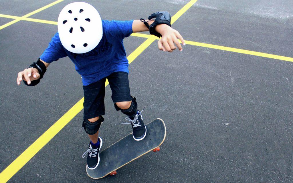 votre été au B'twin village : Skateboard