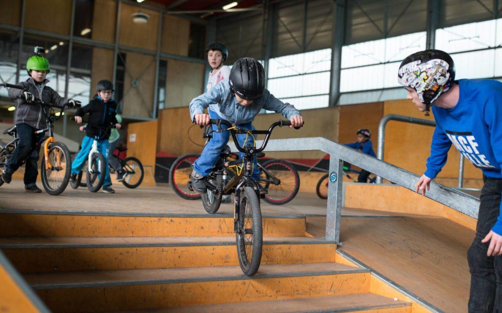 votre été au B'twin village : BMX