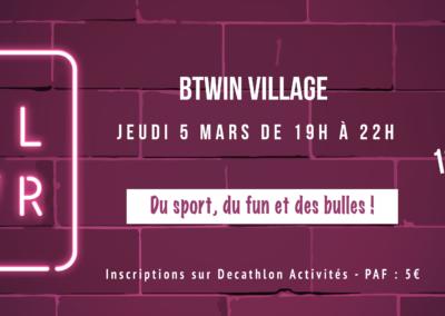 Soirée 100% girls : soirée Girl Power au Btwin village