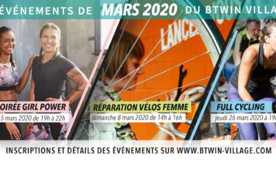 Sortir à Lille : les événements en mars 2020 au Btwin village