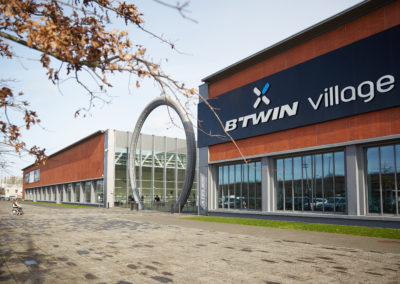 Reprise de l'activité au Btwin Village