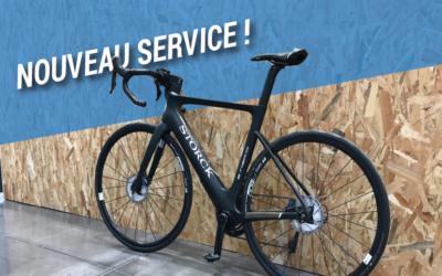 Nouveau service : la location de vélo route AE