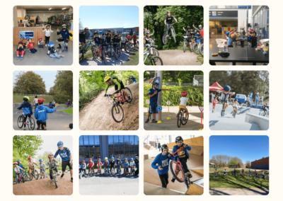 Les activités vacances été avec l'Ecole de vélo MCF Lille