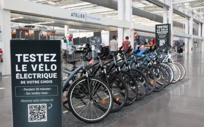 Nouveau service au B'twin Village : le test de vélo électrique !